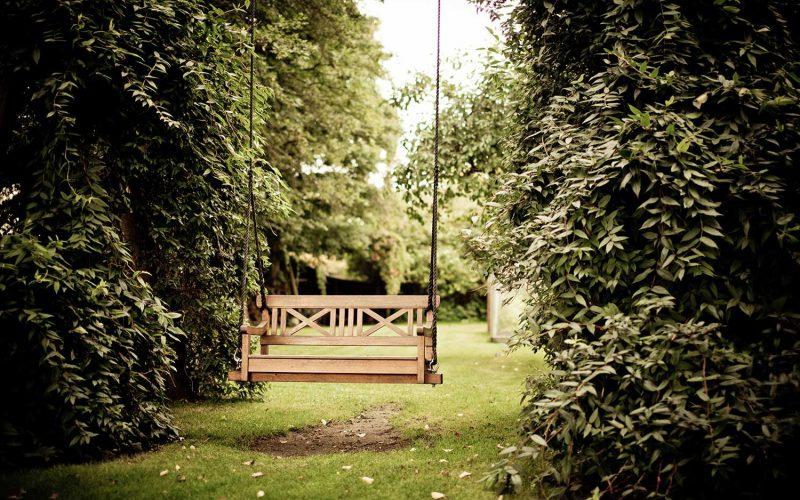 hangbank tuin