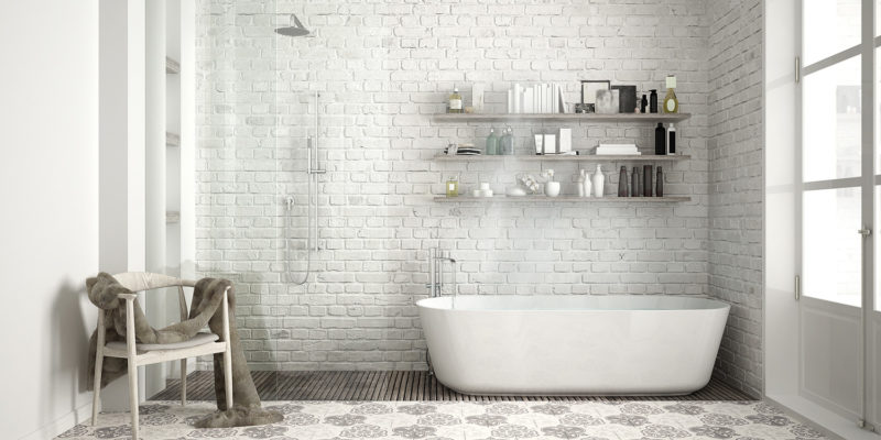 badkamer opgeruimd