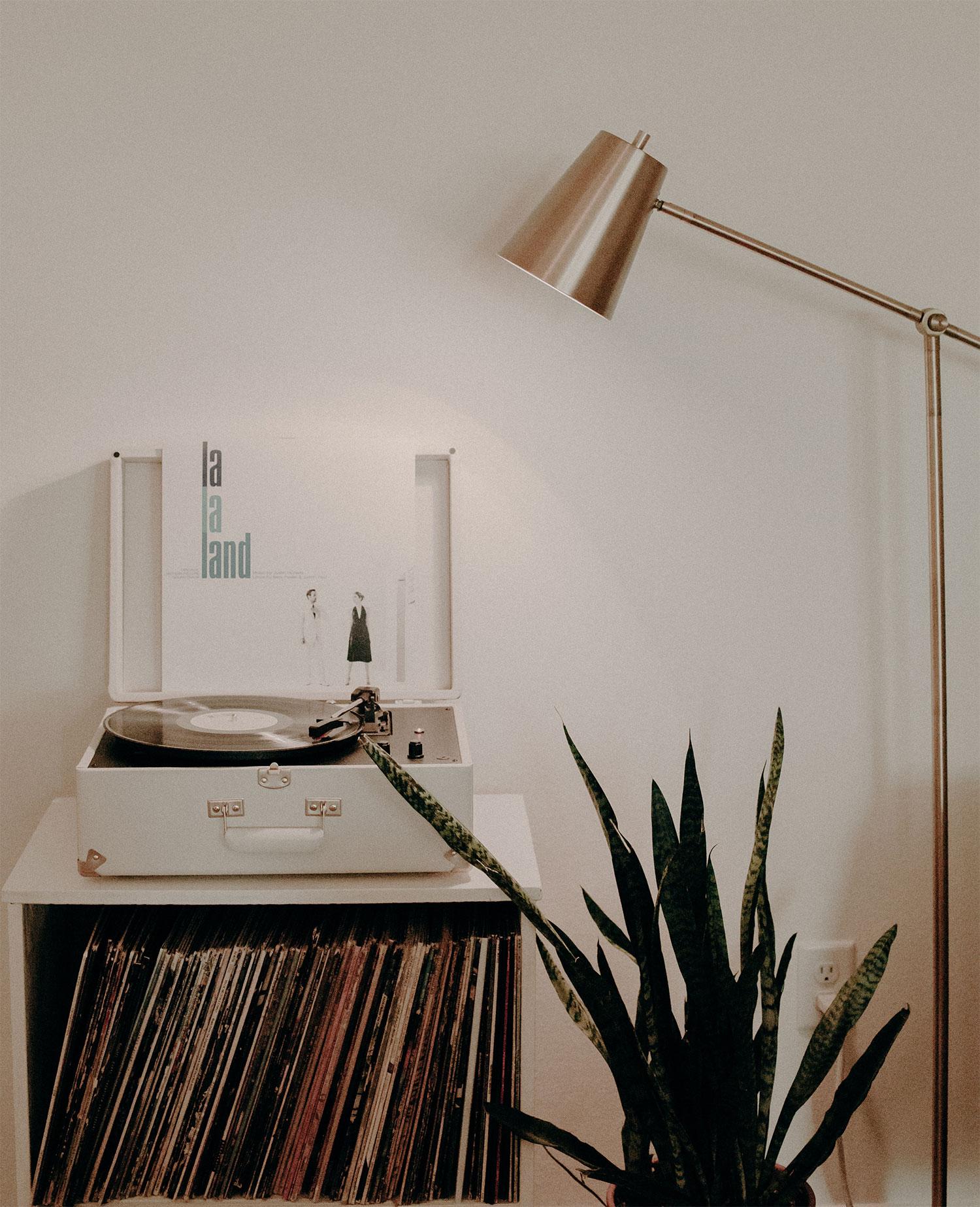 lamp platenspeler