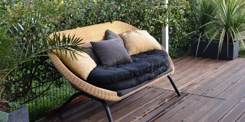 Loungebank tuin
