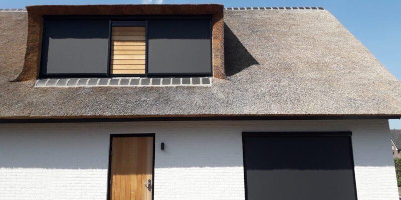 Huis met zonnewering